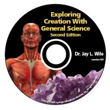 General Science 2nd Edition Full Course CD-Rom by Dr. Jay Wile - The Exploring Creation With Physical Science Full Course CD-Rom can be used for eighth grade (especially if the student has recently left the public schools), it is typically used best in the seventh grade. - $65.00 @apologiaworld