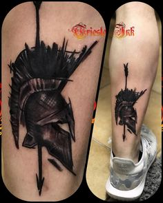 Image may contain: 1 person Mini Tattoos, Cover Up Tattoos, Body Art Tattoos, Tattoos For Guys, Sleeve Tattoos, Cool Tattoos, Tattoo Art, Tatoos, Gladiator Tattoo