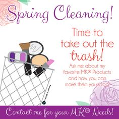 Spring Cleaning! #mk #newproducts #springcleaning2017 #outwiththeold #qtoffice #withyoueverystepoftheway Mary Kay Makeup, Spring Cleaning, My Favorite Things, Purpose, How To Make, Marketing, Business, Ideas, Thoughts