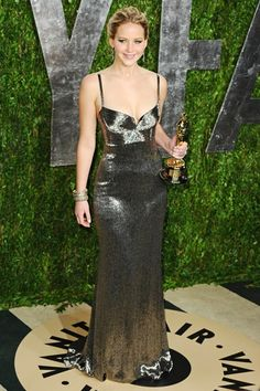Jennifer Lawrence in Gucci #Oscars