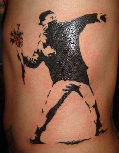 banksy tattoo - Google Search