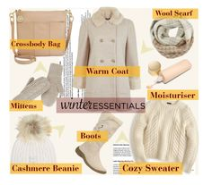 """""""#winteressentials"""" by sweta-gupta ❤ liked on Polyvore featuring J.Crew, Woolrich, The North Face, Tommy Hilfiger, M. Miller, Miss Selfridge, Eve Lom and winteressentials"""