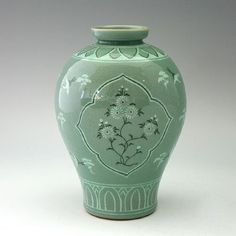 Korean Celadon porcelain inlaid crane and chrysanthemum http://www.amazon.com/Celadon-Semi-round-Chrysanthemum-Decorative-Porcelain/dp/B005M8H69S/ref=pd_sim_sbs_hg_1