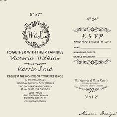 Custom Rsvp Rubber Stamp Invitation Wedding Invitations Invite Card 3 X2 Crsvp4 Pinterest