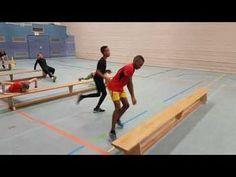 Lauf-ABC und Koordinationstraining mit Matten - YouTube
