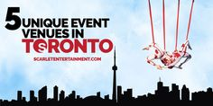 Unique Venues in Toronto Looking to host an event that requires an interesting venue? Toronto can more than cater for your needs!