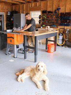 Garage Organization Makeover Creates Tidy Workshop