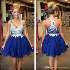 2017 New Lovely Mini Short Homecoming Dresses Spaghetti Straps Full Beaded Bodice Crystal Chiffon Ruffles Sweet Girl Prom Party Dress CPS168 Short Homecoming Dresses 2015 Short Prom Dresses Prom Party Dress Online with 77.71/Piece on Earlybirdno1's Store | DHgate.com