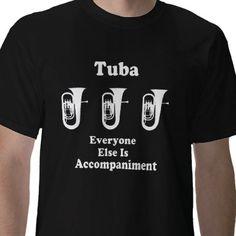 Tuba - everyone else is accompaniment