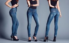 TIFFOSI – Body Silhouette - Jeans - Mulher