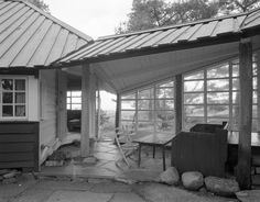 Knut Knutsen: Own summer house, Portør, 1949