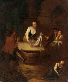 La lavandaia by Pietro Longhi