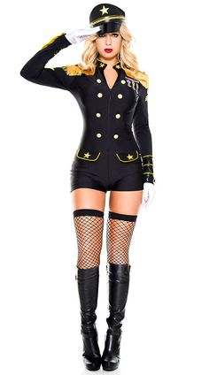 Military General Beauty Costume, sexy general costume - Yandy.com
