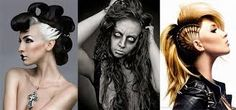 Image result for easy halloween hairstyles
