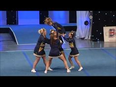 Coventry Cougars All Girl Group Stunt Level 2 2013 - YouTube
