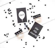 New Masking Tape and Mini Gift Cards.