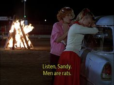 """Men are rats. 
