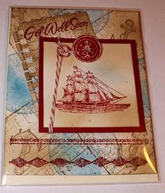 Sail away with stampin up
