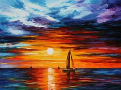 Touch Of Horizon - Leonid Afremov