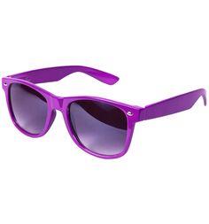 purple | Purple Wayfarer Sunglasses of Truffle Shuffle 80s Clothing Ltd