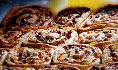 Pizzasnurrer med ostefyll
