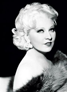 """Mae West - """"You only live once but if you do it right, once is enough."""" Do it with great lashes ;)"""
