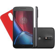 Smartphone Motorola Moto G 4 Plus Dual Chip Android 6.0 Tela 5.5'' 32GB Câmera 16MP - Preto em oferta no site da Submarino.