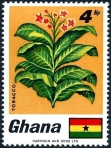 Sello: Tobacco (Ghana) (Fauna and flora) Mi:GH 342A,Sn:GH 331,Yt:GH 319