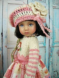 1000+ images about Knitting For Dolls on Pinterest Doll outfits, Dress set ...