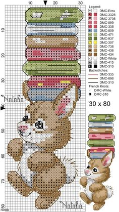 Marque page 21 Cross Stitch Bookmarks, Cross Stitch Books, Cross Stitch Love, Cross Stitch Animals, Cross Stitch Charts, Cross Stitch Designs, Cross Stitch Patterns, Cross Stitching, Cross Stitch Embroidery
