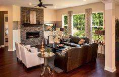 Mount Vernon family room, Drees Homes, Cincinnati and Northern Kentucky
