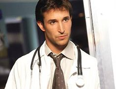 Noah Wyle, he captured my heart as Carter in ER and again as Flynn in the Librarian.
