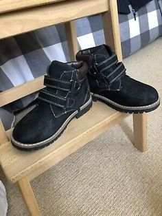 Like brand newHiking Boots Fot Boys EU Size 32 Onky Worn A Few Times Black. Air Max 95, Nike Air Max, Brown Leather Ankle Boots, Ralph Lauren Boys, Boys Nike, Boy Outfits, Hiking Boots, Tommy Hilfiger, Times