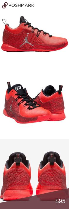 """Jordan CP3.X Men's 9.5 Basketball Shoes Guaranteed AUTHENTIC Jordan CP3.X """"Infrared 23"""" Men's SZ 9.5 854294 600 Athletic Basketball Sneakers Designed for fast, dynamic play, features a one-piece, seamless woven upper for lightweight support and a Nike Zoom air unit for ultra-responsive cushioning underfoot. Rubber traction pattern allows for quick cuts and jumps Flywire cables integrate with laces for dynamic lockdown Injected Phylon midsole for lightweight cushioning TPU cage for durability…"""