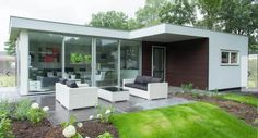 4-persoons Pavilion met terras op EuroParcs Landgoed Hommelheide