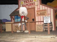 Riding Yosemite Sam's and the gold river adventure.   ( The Cave)