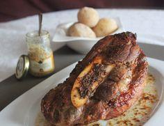 Aguja de Ternera al Horno con Mostaza y Miel   Cocinando con las Chachas