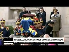 Regele Mihai I, condus pe ultimul drum ca un mareșal - YouTube
