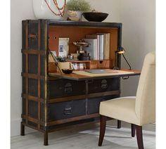 Ludlow Trunk Secretary Desk