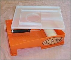 Secur-Tray - all-in-one tool caddy and paint tray