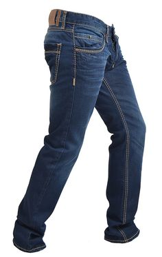 THICK STITCHED DENIM - $155 by RNT23 Jeans |  | #Jeans