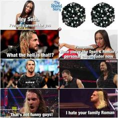 really though lol Wwe Funny, Funny Jokes, Geek Humor, Man Humor, Wwe Raw And Smackdown, Wrestling Memes, The Shield Wwe, Wwe Champions, Cm Punk