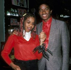 Michael Jackson and Janet