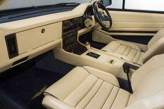 ASTON MARTIN VOLANTE ZAGATO RHD (1989) Aston Martin Volante, Aston Martin V8, Car Seats, Salisbury, Metallic, Blue