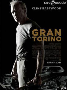 affiche du film Gran Torino de Clint Eastwood