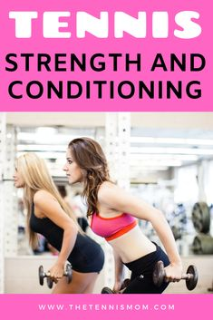 Tennis workouts in the gym or at home are needed to get in shape for the spring and summer tennis season. Find ideas on strength and conditioning for tennis. Learn about exercises that will help tennis players on the court. Tennis Equipment, Tennis Gear, Tennis Tips, Tennis Clothes, Sport Tennis, Tennis Dress, Tennis Serve, Tennis Match, Tennis Scores