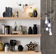 Monochrome gifts from Typo are sure to make the fashionista in your life squeal with glee! #typoshop #christmas #gift #home #monochrome #lights #gold #blackandwhite