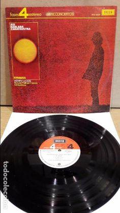 R. STRAUSS. ASI HABLABA ZARATHUSTRA / HENRY LEWIS. LP / DECCA - 1971 / LEVES MARCAS. ***/***