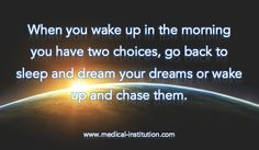 When you wake up in the morning - #MotivationalQuote, #InspirationalQuotes #motivation #quotes
