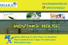Planning Before Relocation Makes Your Moving Simple and Economy..... http://www.sharapackersindia.com  Call Us : 09515755322.